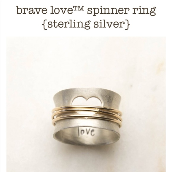 2f0034a71 Jewelry | Lisa Leonard Design Brave Love Ring | Poshmark